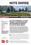De la ville minérale à la ville poreuse : évolution récente des doctrines de gestion de l'eau en milieu urbain