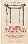 Histoire naturelle de l'architecture